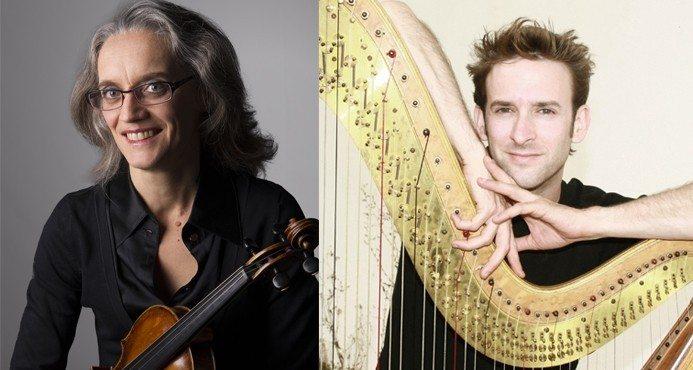 Concert violon et harpe par l'Orchestre régional de Normandie Luc-sur-Mer