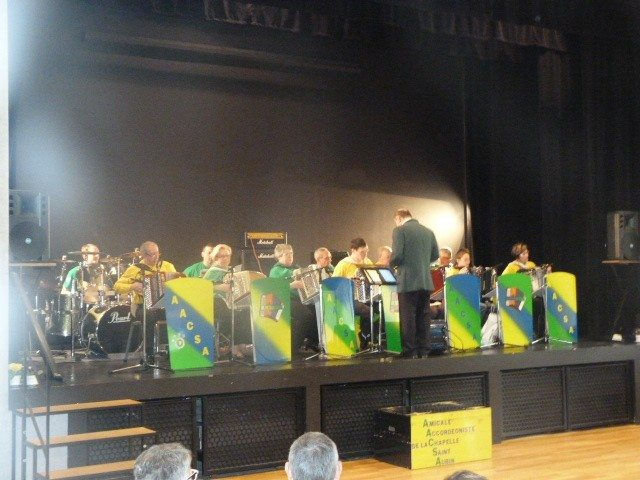 Concerts avec l'Amicale accordéoniste La Chapelle-Saint-Aubin