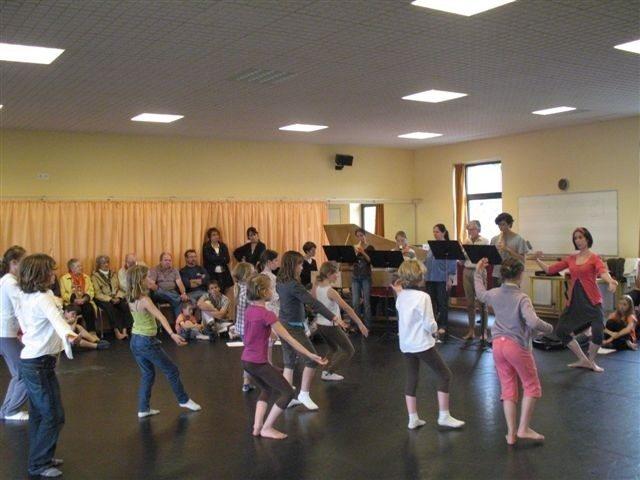 Cours de danse baroque Sablé-sur-Sarthe