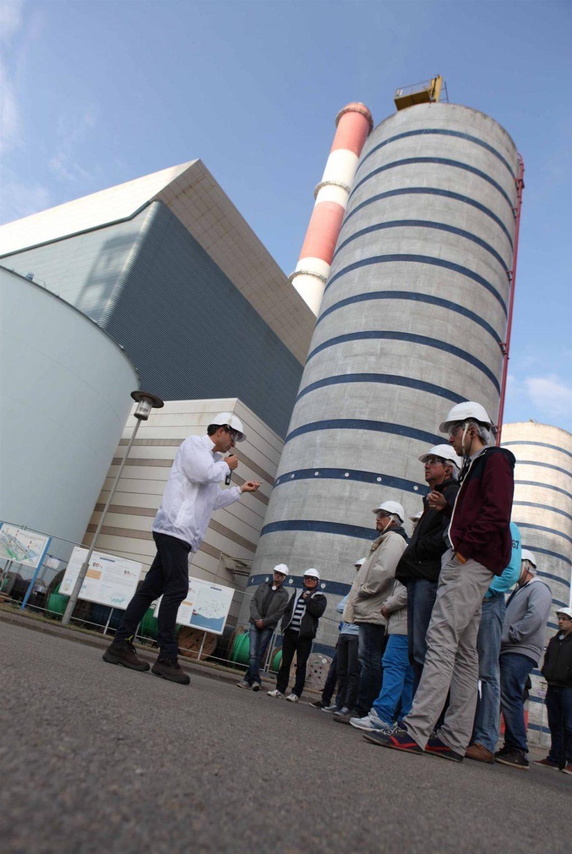 Découverte de la centrale EDF de Cordemais Cordemais