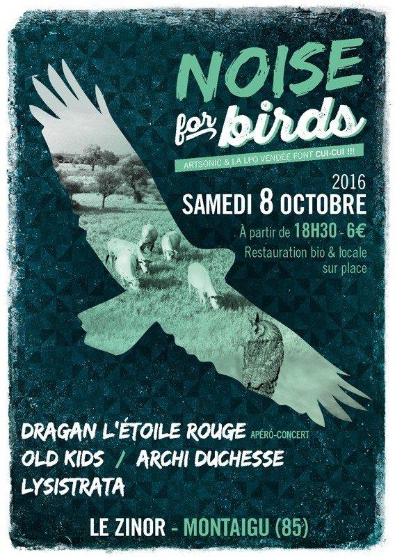 Noise for birds avec Dragan, Old Kids, Archi duchesse, Lysistrata Montaigu