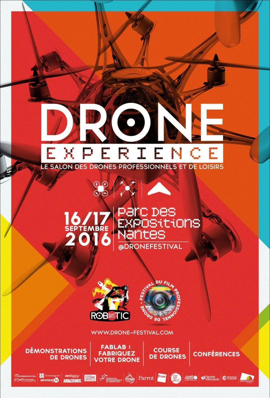 Drone expérience Nantes