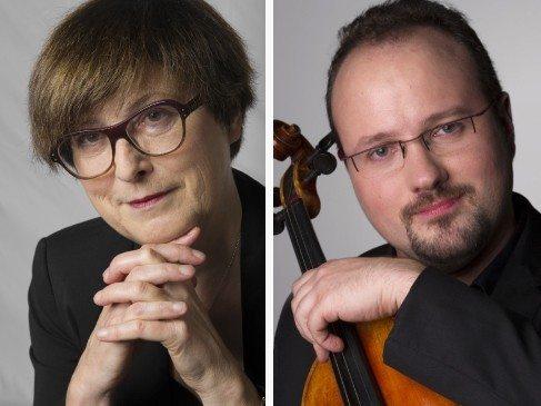 Duo alto et piano par l'orchestre régional de Normandie La Gonfrière
