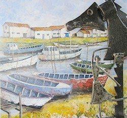 Exposition de Jean-Pierre Doumenjou Montreuil-Juigné
