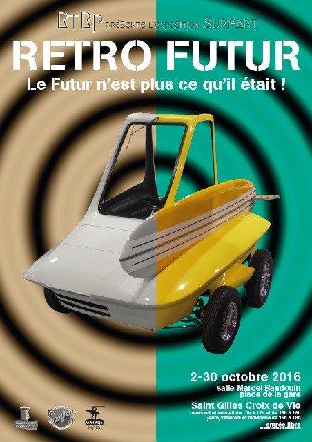 Exposition Rétro futur par le collectif RtRp Saint-Gilles-Croix-de-Vie