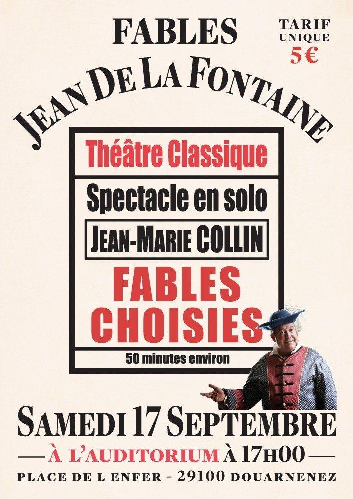 Fables de Jean De La Fontaine par Jean-Marie Collin Douarnenez
