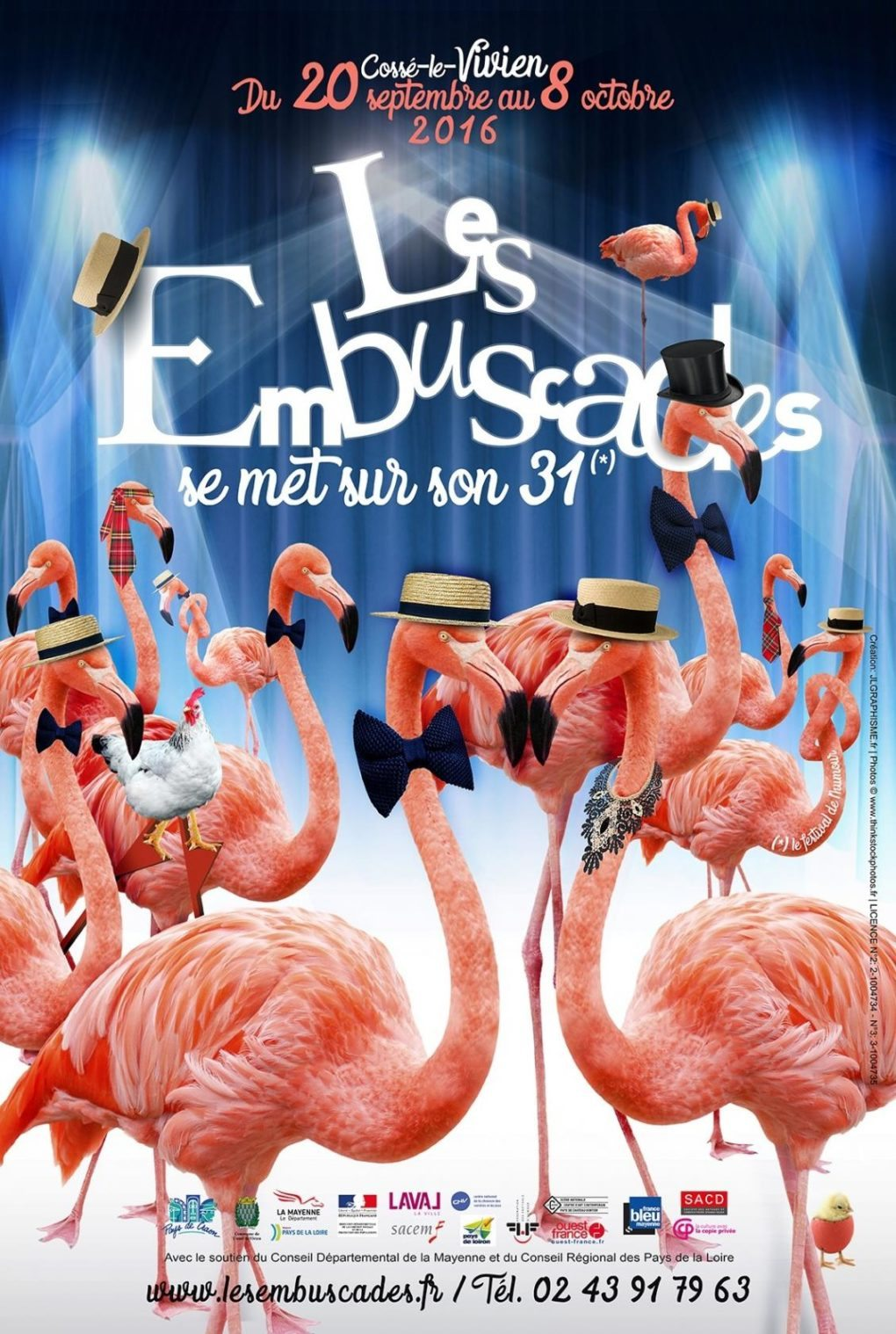 Festival les Embuscades, spectacle surprise ! Cossé-le-Vivien