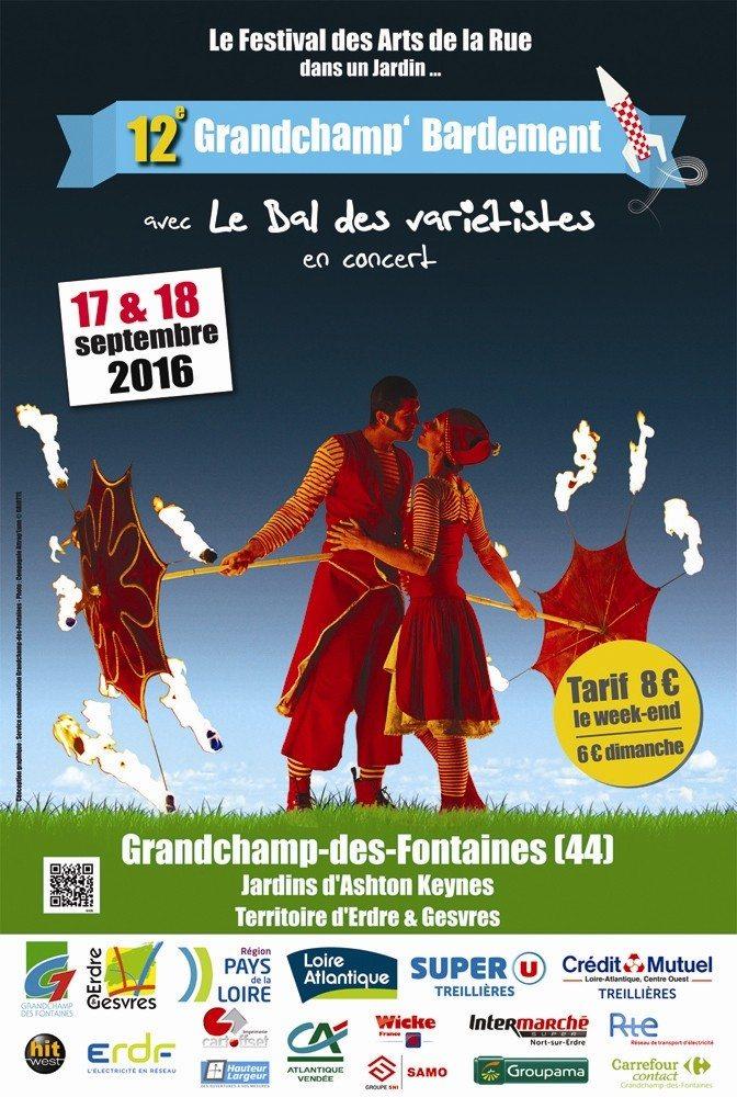 Festival des arts de la rue - Le Grandchamp'Bardement Grandchamps-des-Fontaines