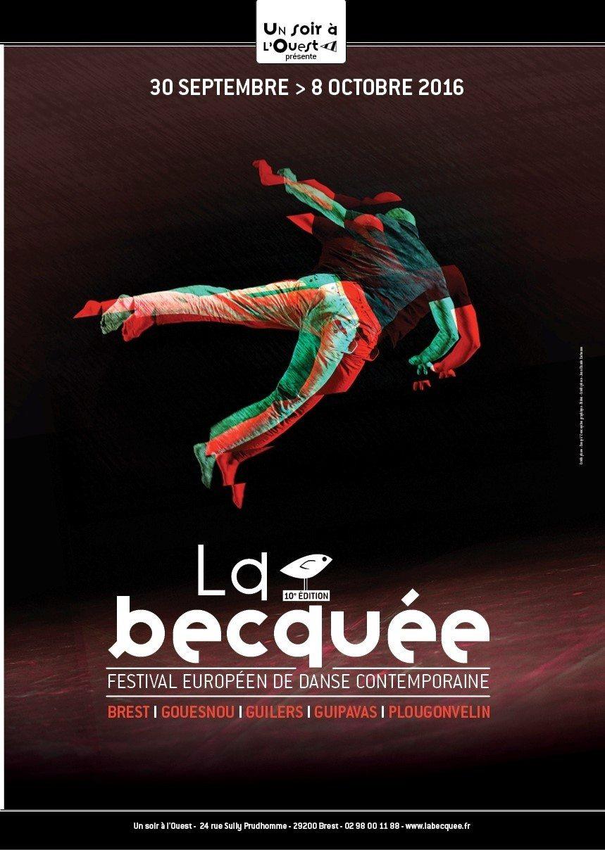 Festival européen danse contemporaine La Becquée Brest