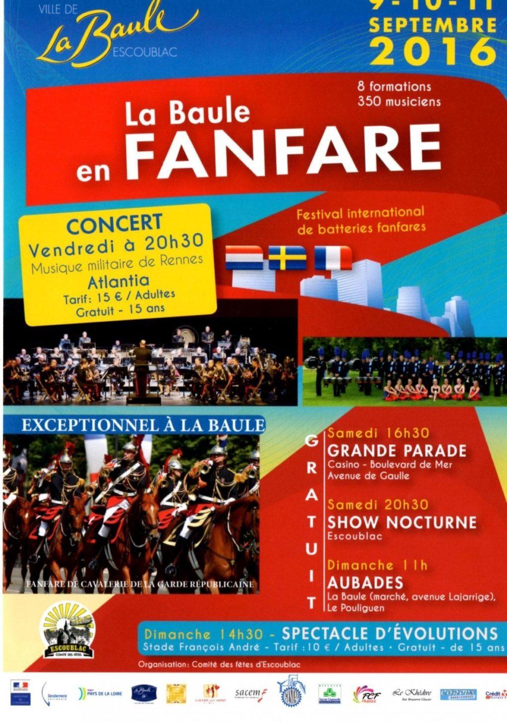 Festival international de batteries fanfares La Baule-Escoublac