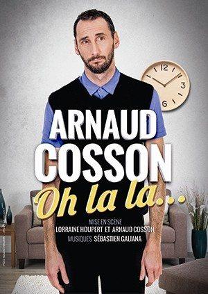 Festival L'air d'en rire : Arnaud Cosson Oh la la La Génétouze