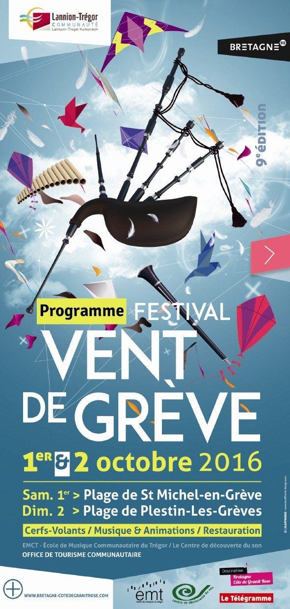 Festival Vent de Grève Saint-Michel-en-Grève