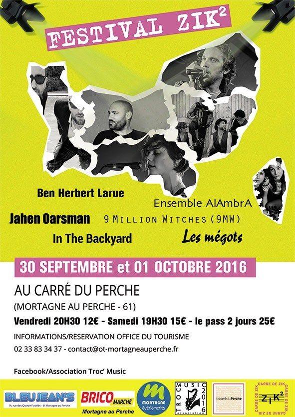 Festival zik2 Mortagne-au-Perche