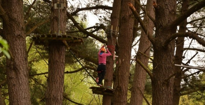 Forêt Adrénaline accrobranche