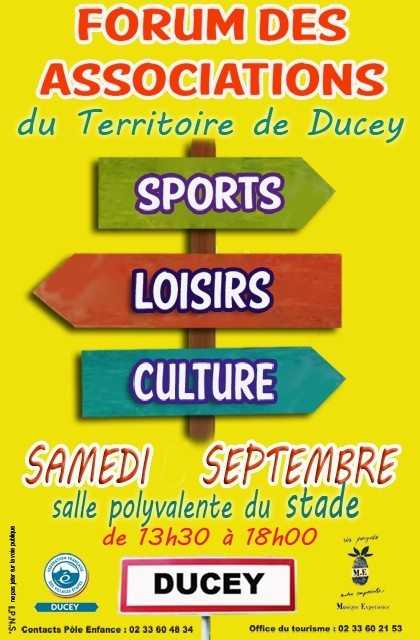Forum des associations Ducey-Les-Chéris
