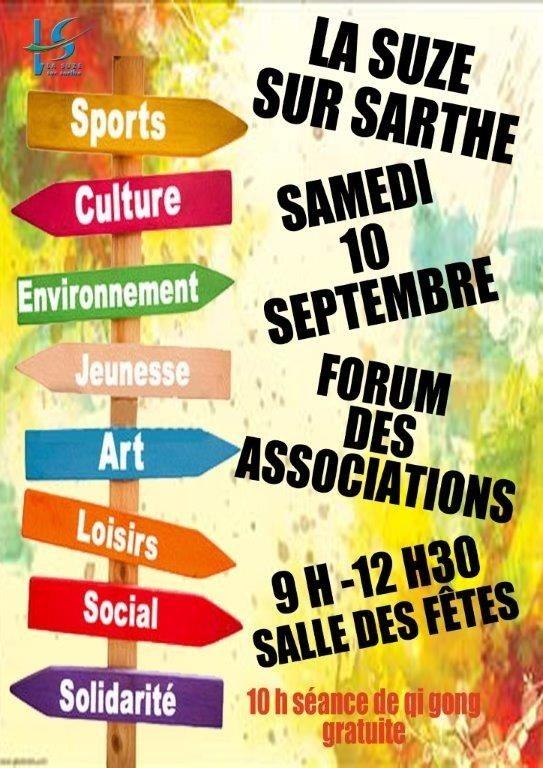 Forum des associations La Suze-sur-Sarthe