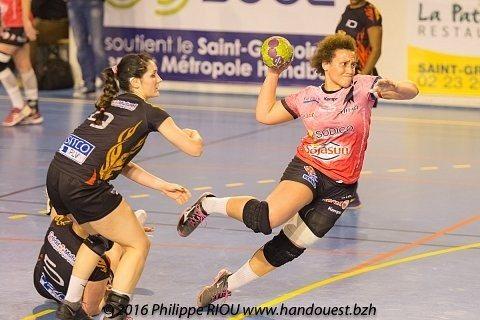 Handball féminin Saint-Grégoire