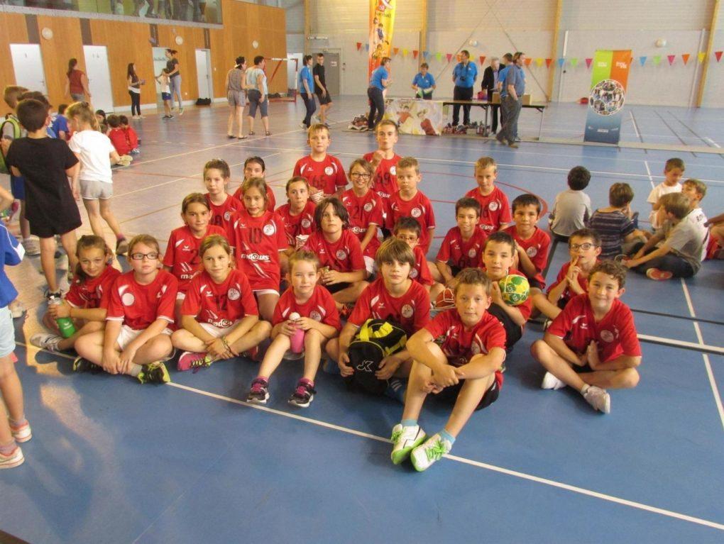 Initiation au handball Meslay-du-Maine