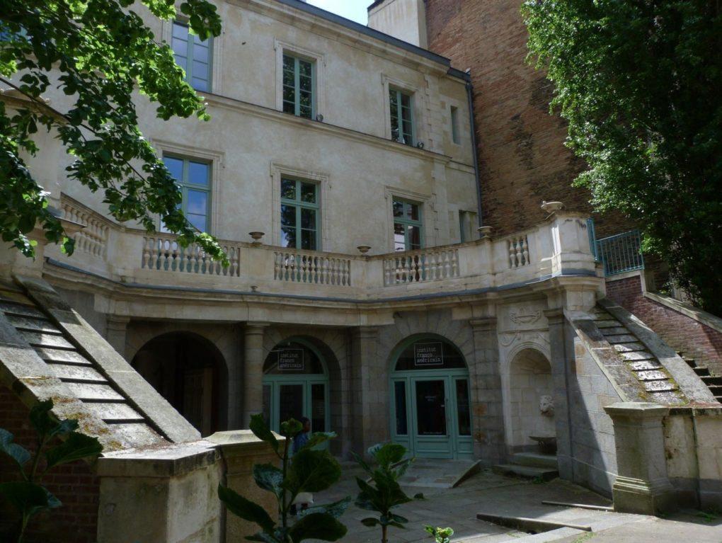 Institut franco-américain, hôtel Thétiot du Demaine Rennes