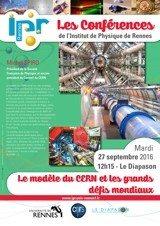 IPR : Le modèle du Cern et les grands défis mondiaux Rennes