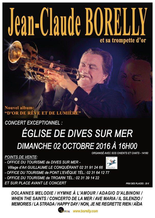Jean-Claude Borelly et sa Trompette d'Or Dives-sur-Mer