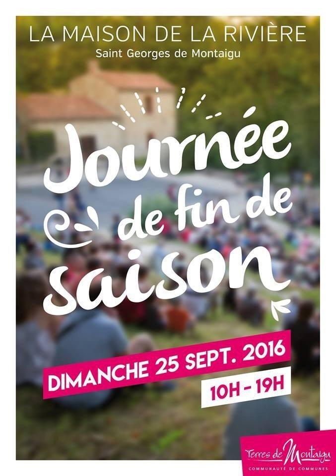 Journée de fin de saison Saint-Georges-de-Montaigu