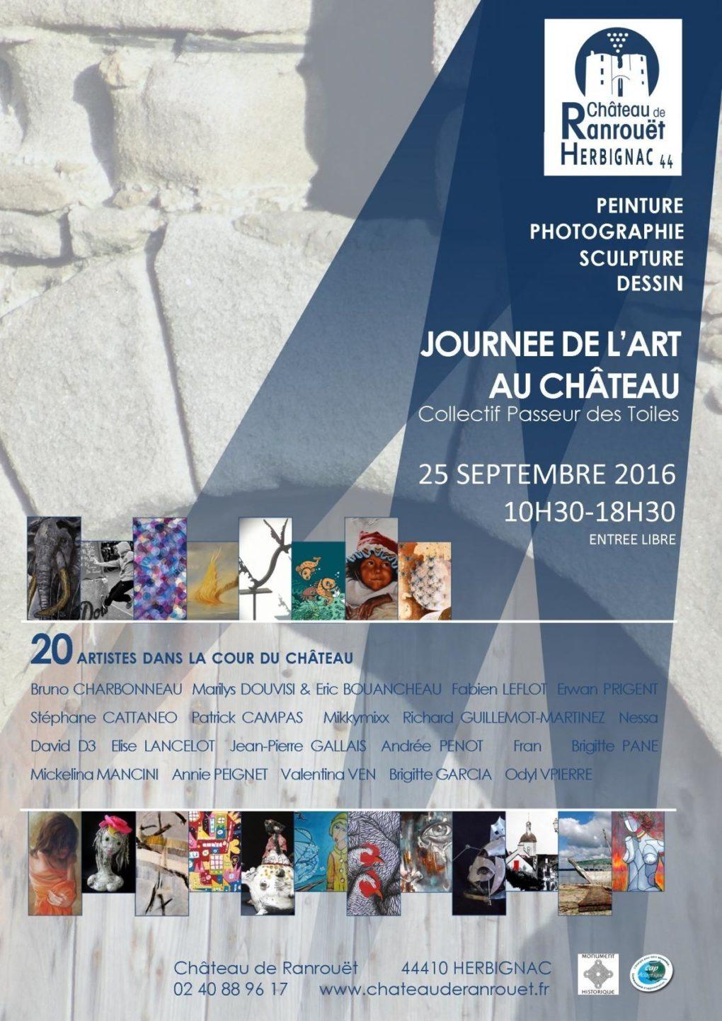 Journée de l'art au château Herbignac