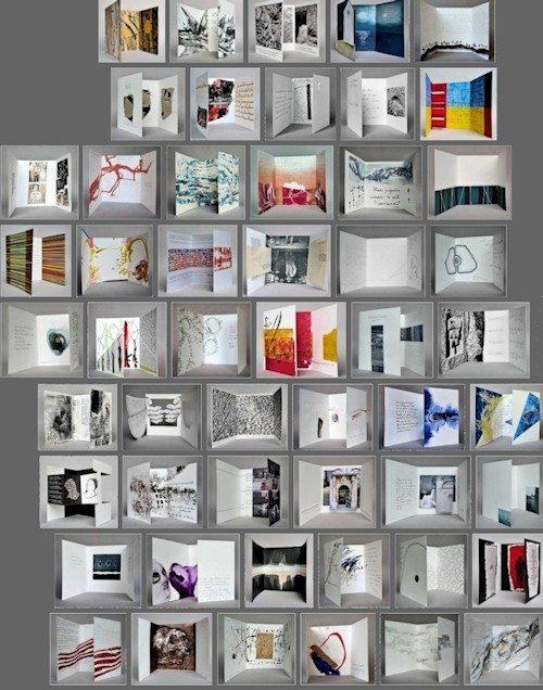 L3V présentation de livres d'artiste Arradon