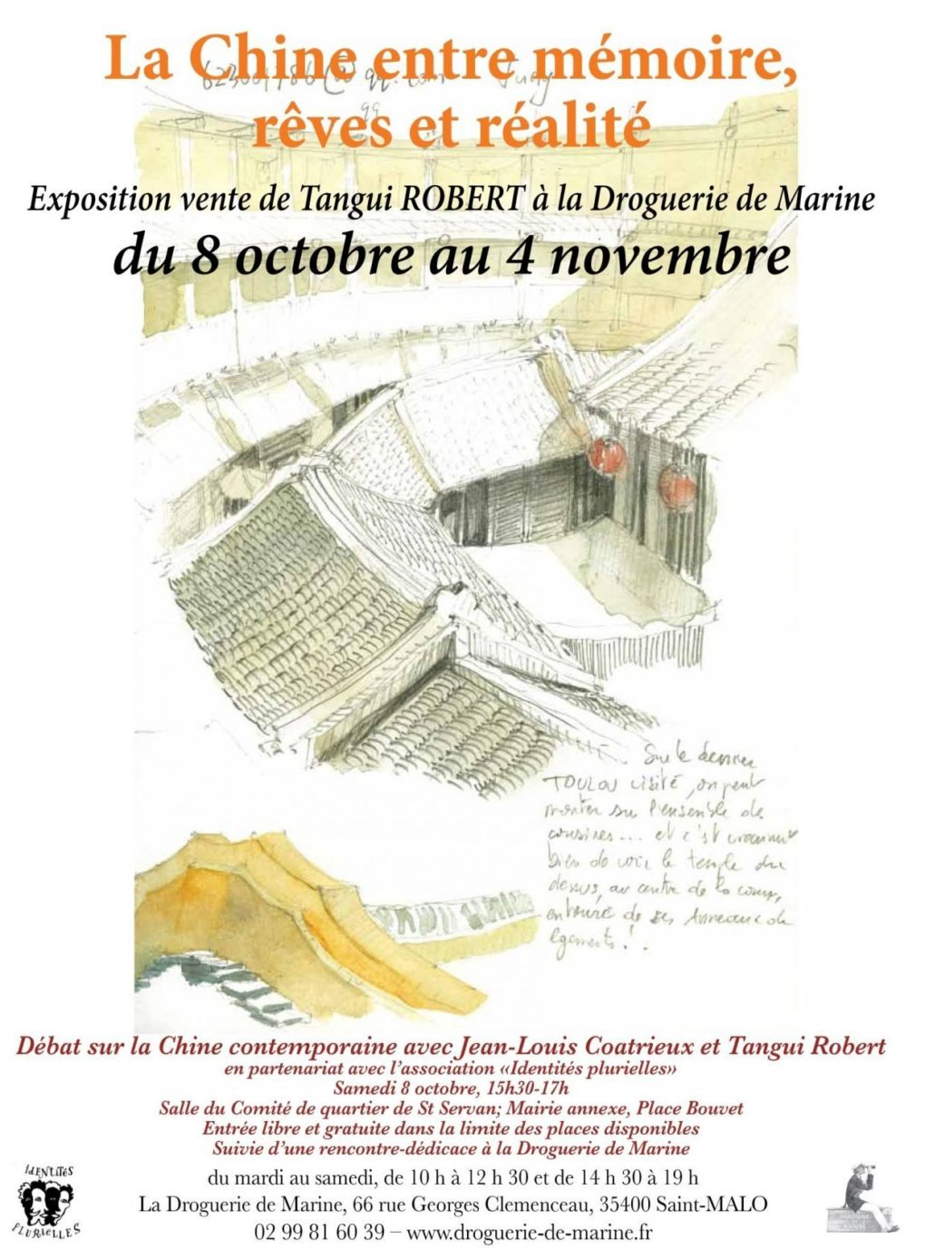 La Chine entre mémoire, rêves, réalité, de Tangui Robert Saint-Malo