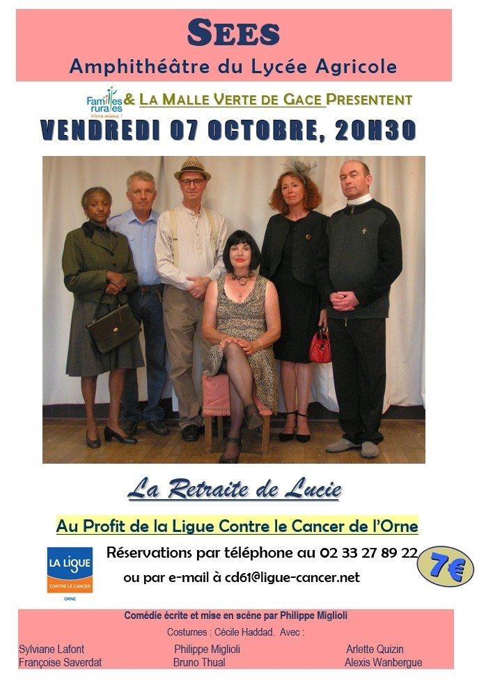 La retraite de Lucie par la compagnie La Malle Verte Sées