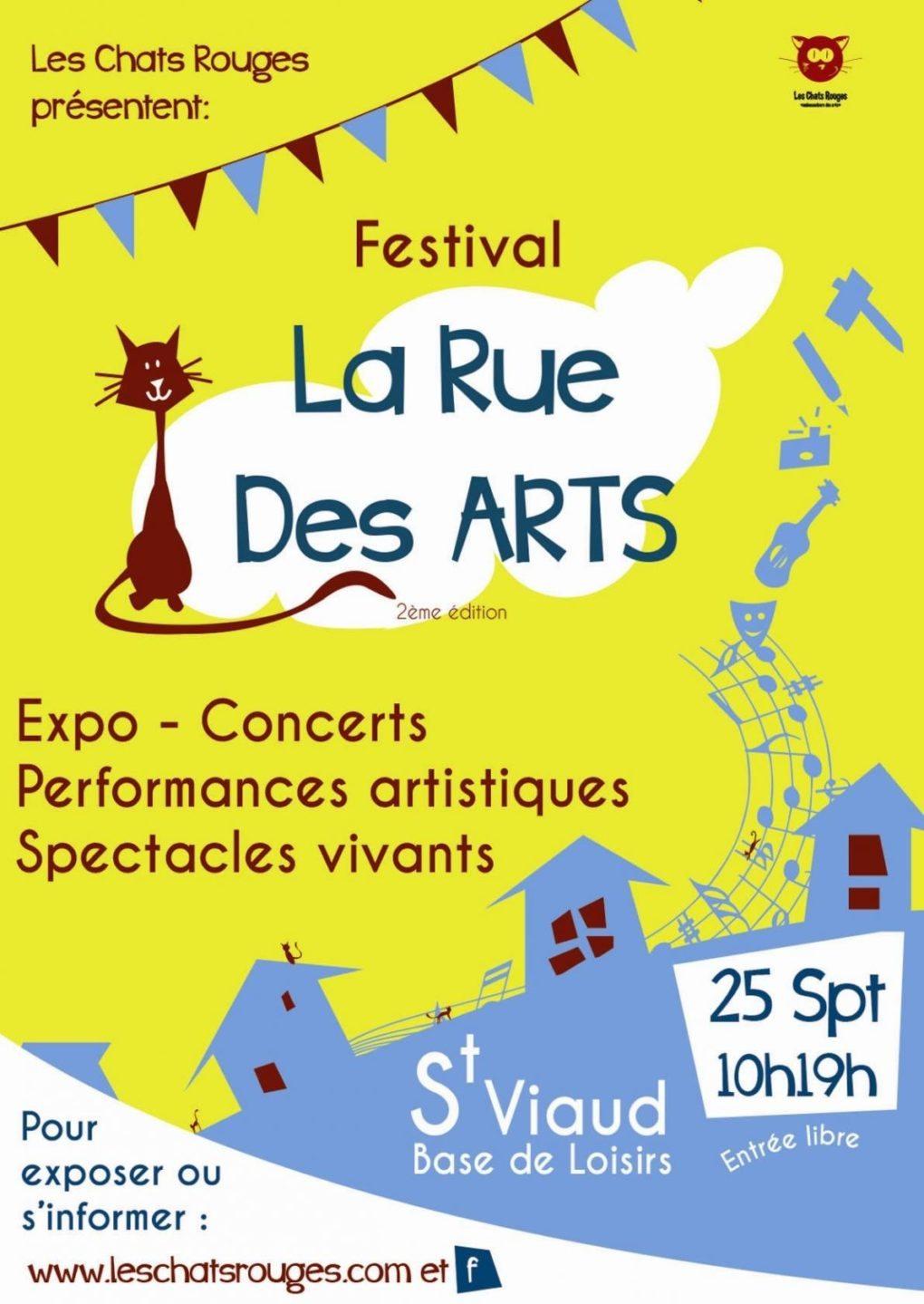 La Rue des Arts Saint-Viaud