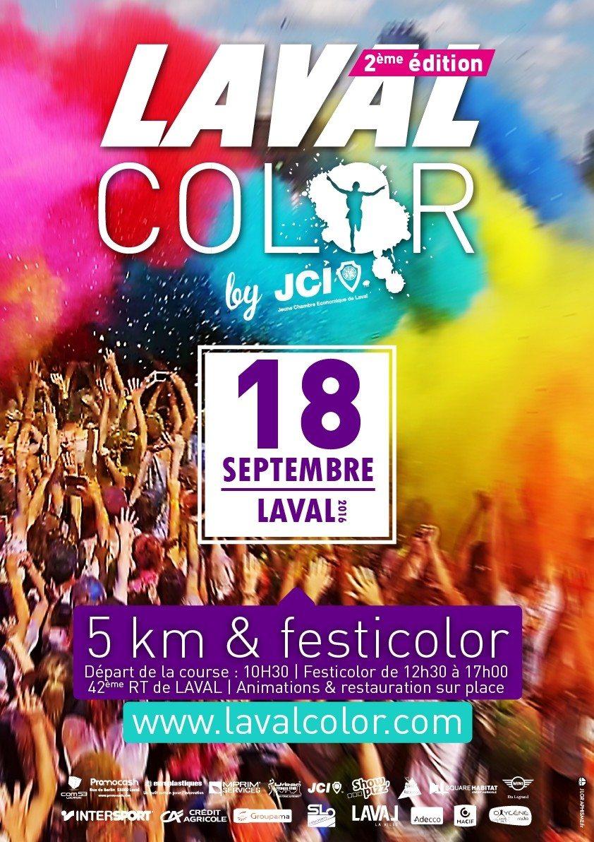 Laval Color : 2e édition Laval