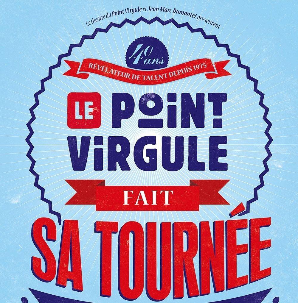 Le Point Virgule fait sa tournée humour Sartilly-Baie-Bocage