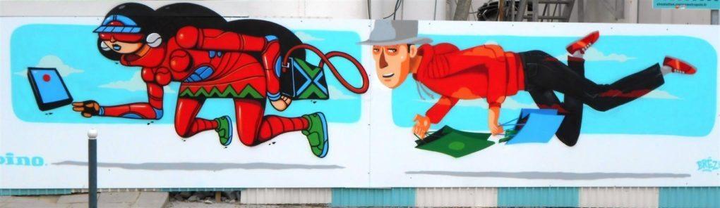 Le street art ou l'art dans la rue Rennes