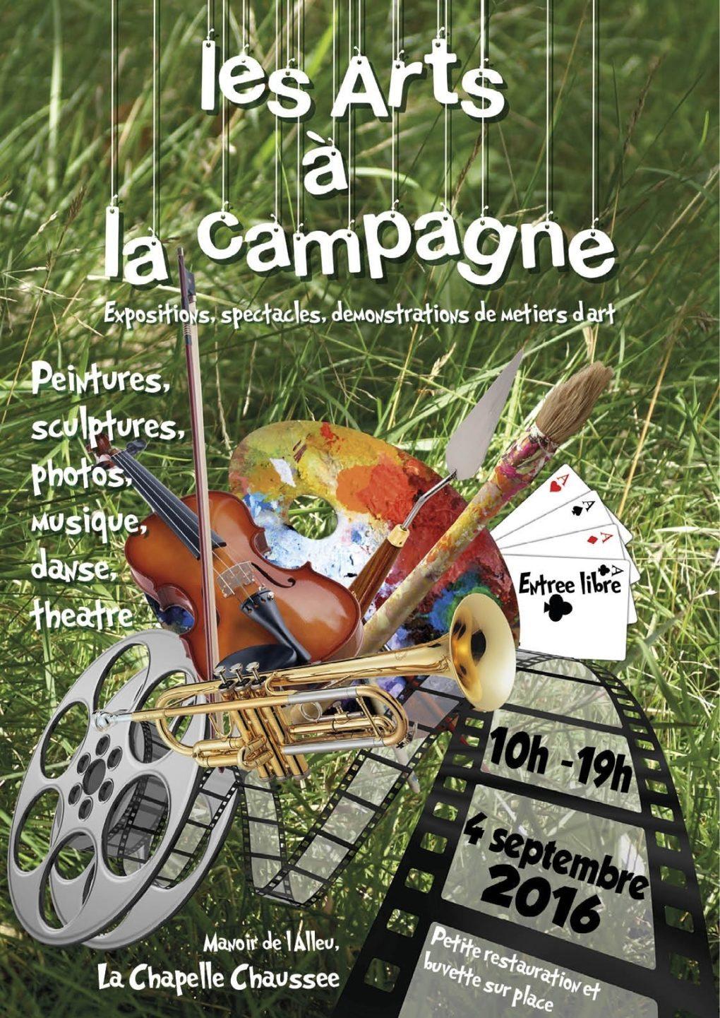 Les Arts à la campagne La Chapelle-Chaussée