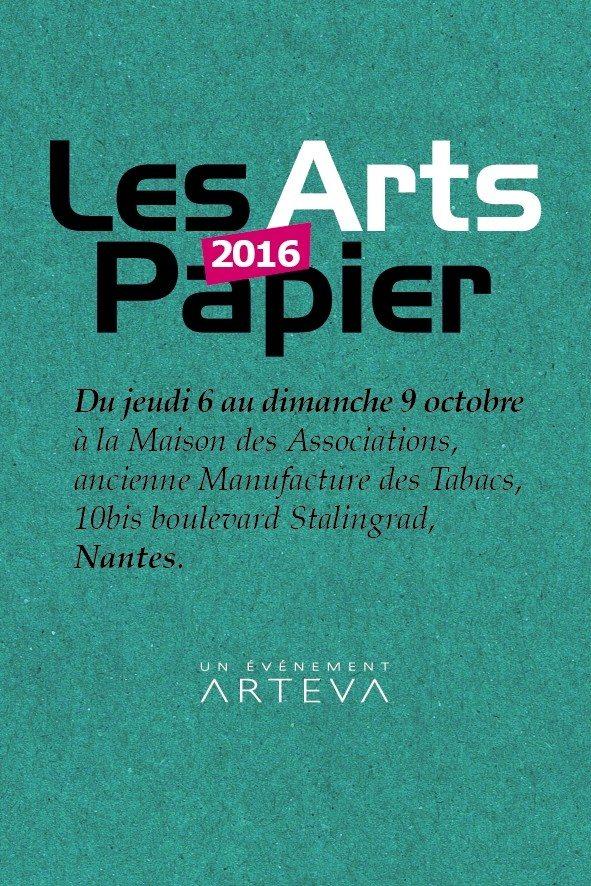 Les Arts Papier 2016 Nantes