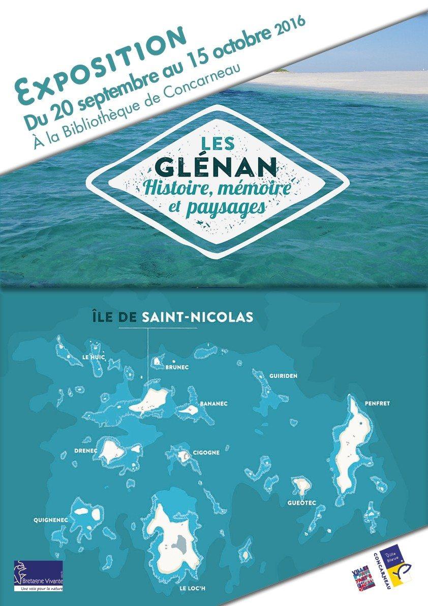 Les Glénan : histoire, mémoire et paysages Concarneau