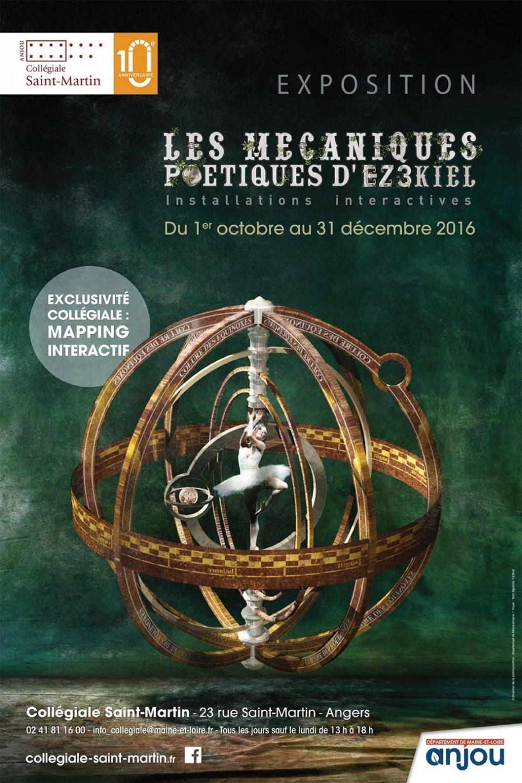 Les mécaniques poétiques d'EZ3kiel : nocturne de clôture Angers