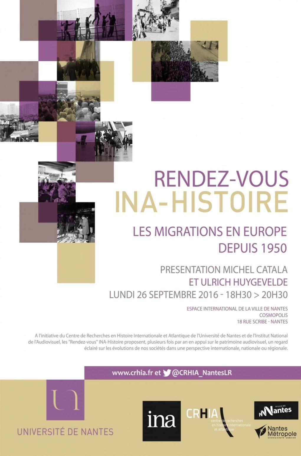 Les migrations en Europe depuis 1950 Nantes