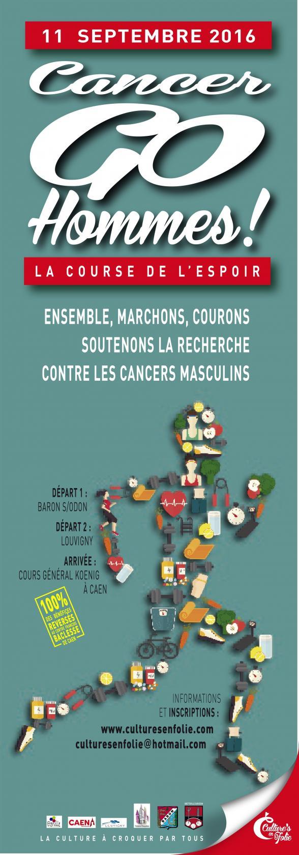 Marche course solidaire pour la lutte contre le cancer masculin Baron-sur-Odon