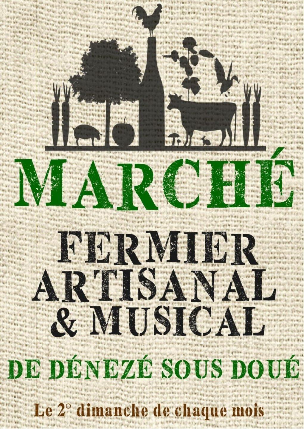 Marché fermier artisanal musical, troc des collectionneurs Dénezé-sous-Doué
