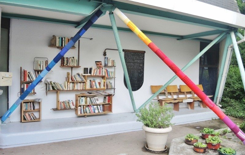 Midi tricot, de l'Espace lecture Carrefour 18 Rennes