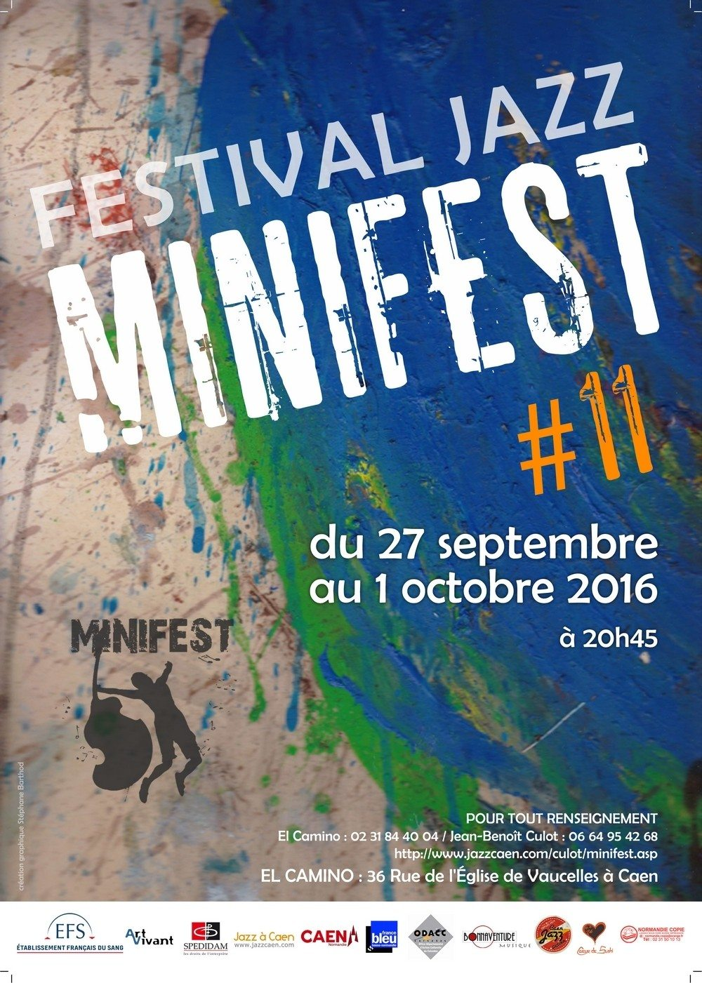Minifest #11, festival jazz Caen
