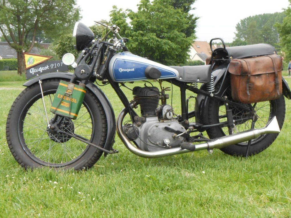 Motos anciennes Semur-en-Vallon