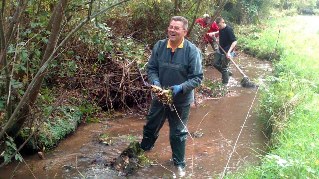 Nettoyage rivière Ploeuc-L'Hermitage