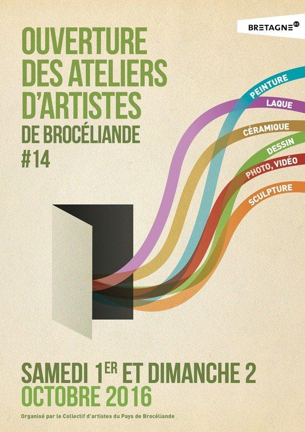 Ouverture des ateliers d'artistes de Brocéliande #14 Saint-Pern