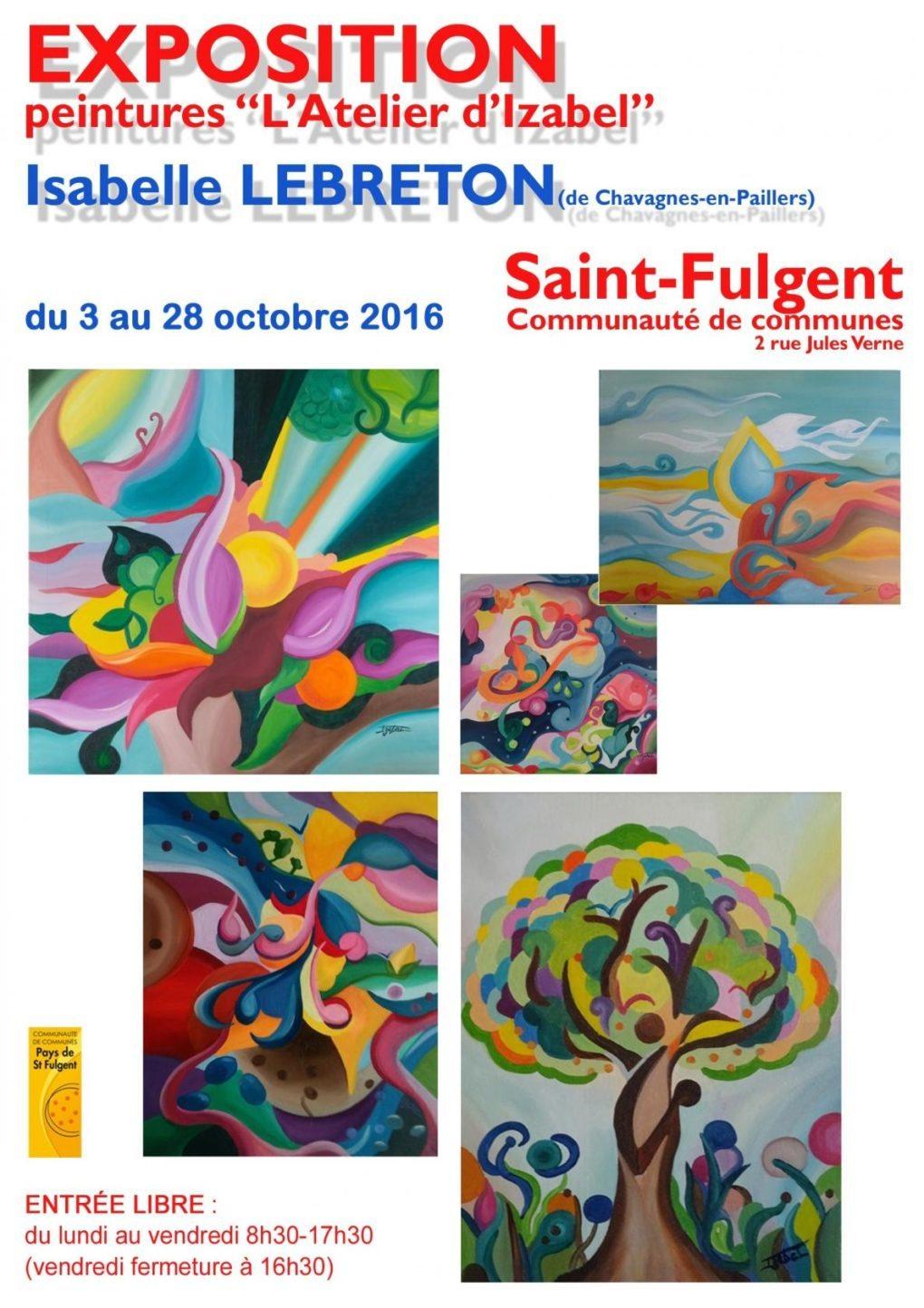 Peinture Isabelle Lebreton Saint-Fulgent