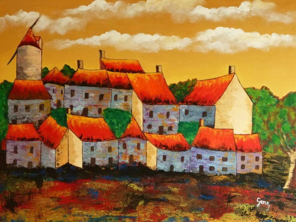 Peintures de Geneviève Leboucher Sargé-lès-le-Mans