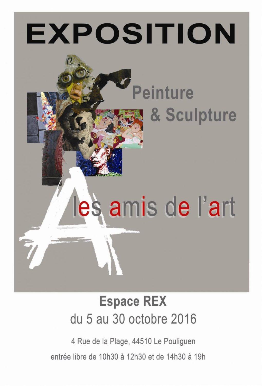 Peintures et sculptures des Amis de l'art Le Pouliguen