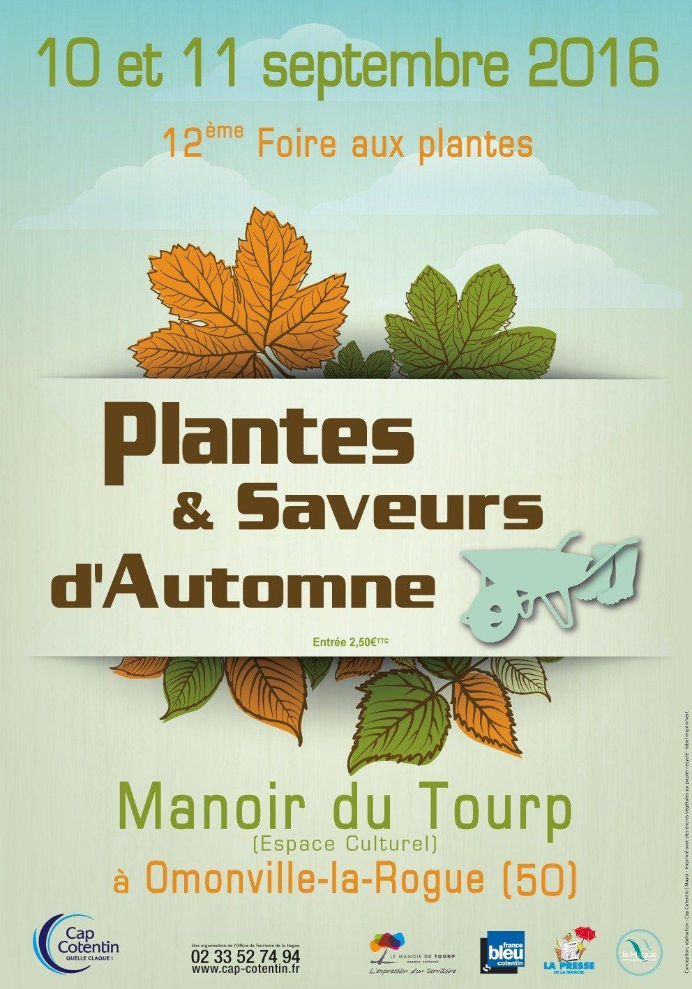 Plantes et saveurs d'automne : 12e édition Omonville-la-Rogue